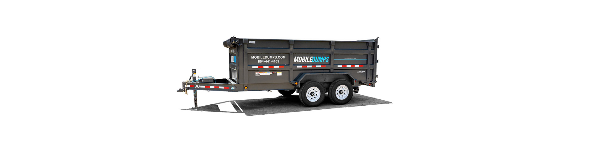 mobile dumpster used in richmond, norfolk and virginia beach