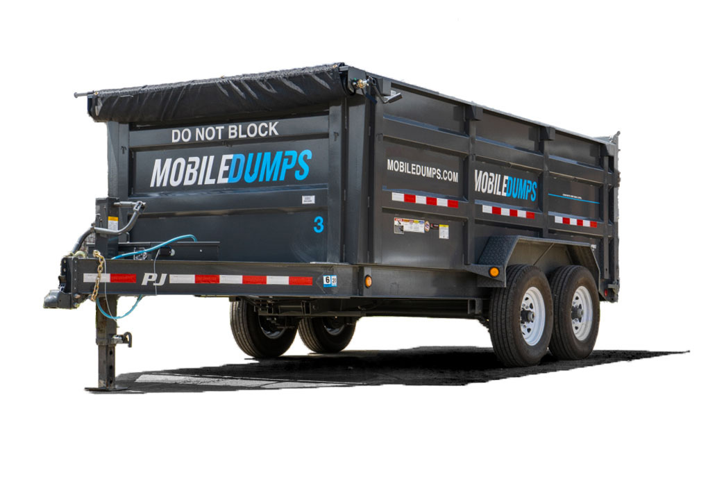 mobiledumps trailer used in richmond, norfolk and virginia beach